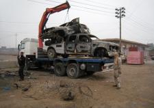 Police and gunmen prepare for standoff in Fallujah