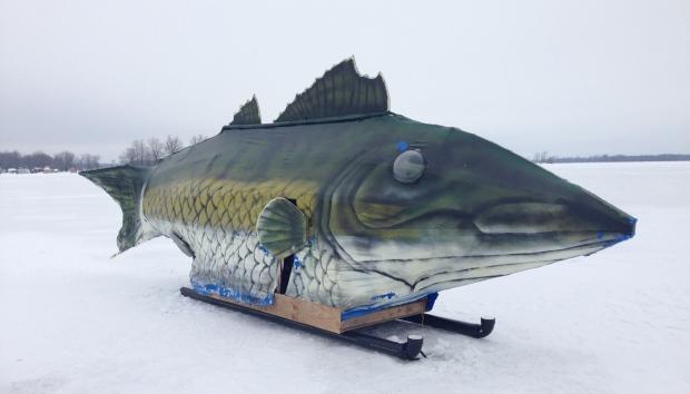 22 foot walleye catches plenty of attention ctv ottawa news for Plenty of fish phoenix