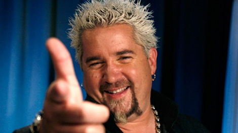 Celebrity chef Guy Fieri. (AP /Jeff Christensen)
