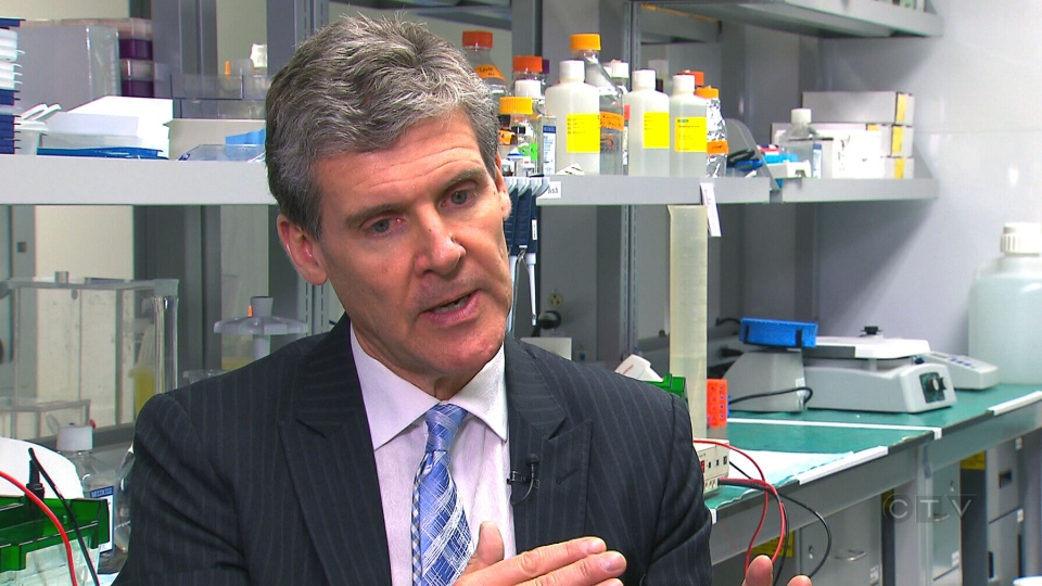 Dr. Michael Fehlings, head of the spinal program at Toronto Western Hospital speaks with CTV News.