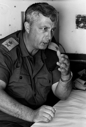 One of Israel's most controversial leaders Ariel