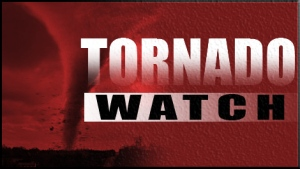 Environment Canada issued a tornado watch for Ottawa on Tuesday morning.