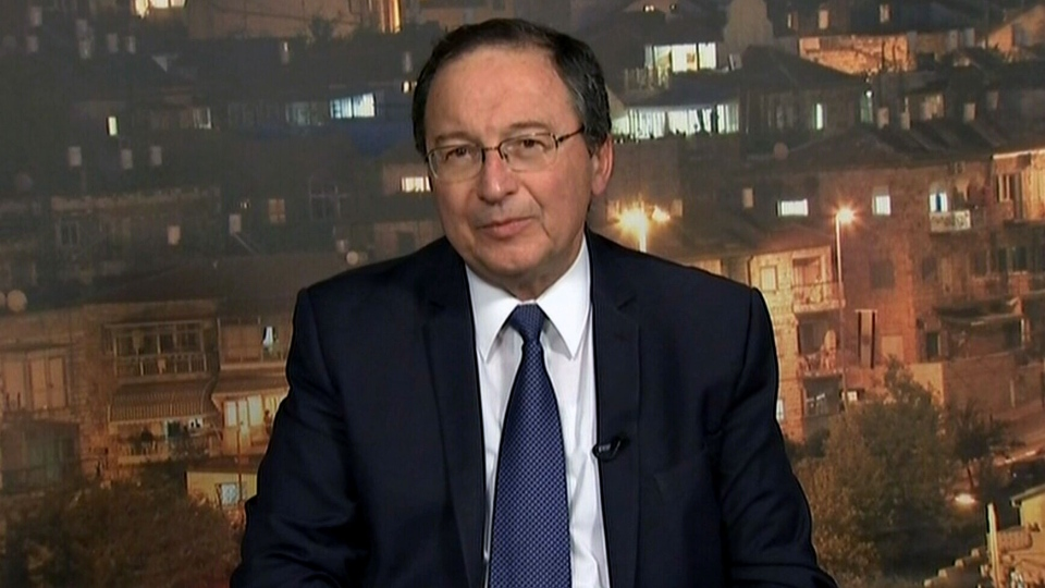 Israel's ambassador to Canada Rafael Barak appears on CTV's Question Period, Sunday, Jan. 12, 2013.