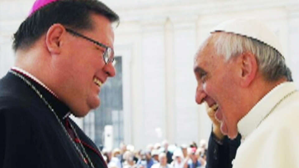Quebec Archbishop Gerald Cyprien Lacroix was named cardinal by Pope Francis on Jan. 12, 2014.