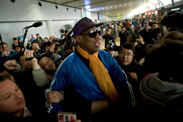 Dennis Rodman in Beijing