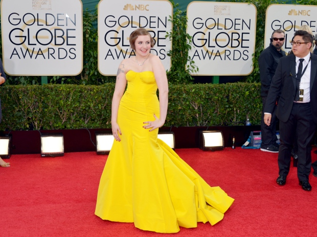 Girls Lena Dunham Golden Globes