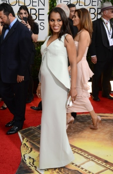 Baby Kerry Washington Golden Globes