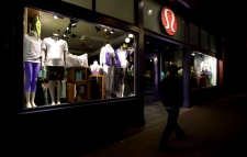 Lululemon Athletica weak January sales
