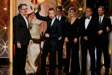 Aaron Paul Breaking Bad Golden Globes