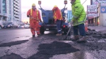 CTV Toronto: Crews blitz pothole proliferation