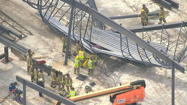 Man Dead Following Scaffolding Collapse At Mississauga