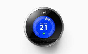 The Nest Learning Thermostat is shown in an undated handout photo. (THE CANADIAN PRESS)