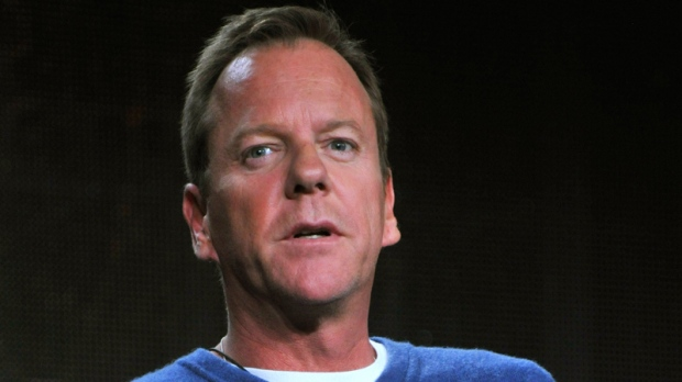 Kiefer Sutherland asks Ford to stop using grandfather