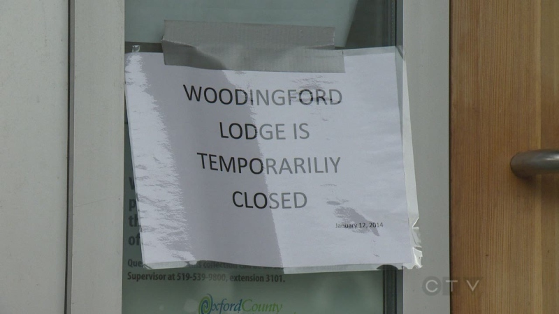 About 32 residents are still displaced after flooding at the Woodingford Lodge Long-Term Care facility in Tillsonburg, Ont.
