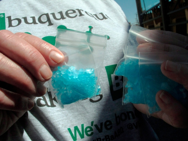 Blue meth being sold in U.S.