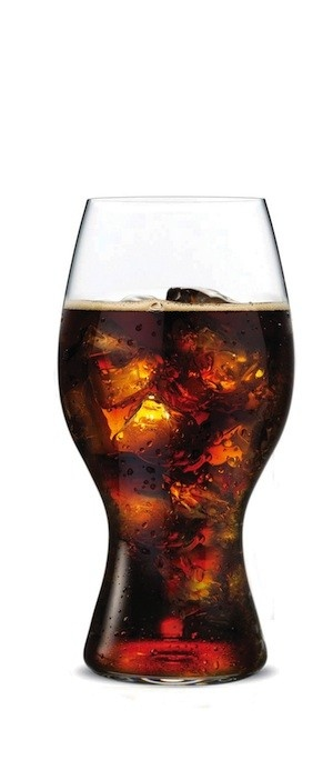 Riedel has released a specially designed glass intended to make Coca-Cola taste better. (Handout/Riedel)