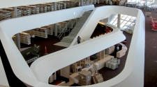 A new library in Surrey, B.C. is hoping to extend the shelf life of libraries with a 'human lending' program set to launch in the fall.