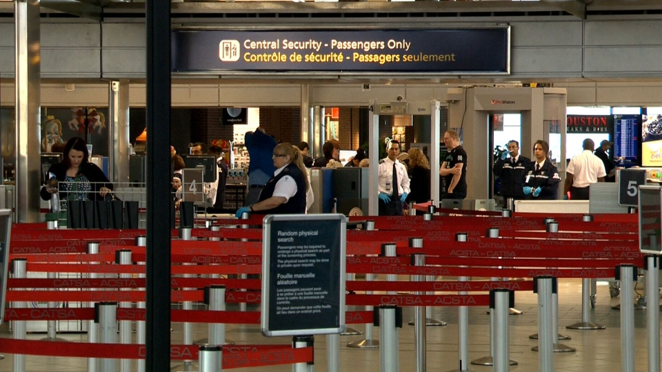 A man who had a pipe bomb in his carry-on bag was still allowed to board his international flight from Edmonton last fall.