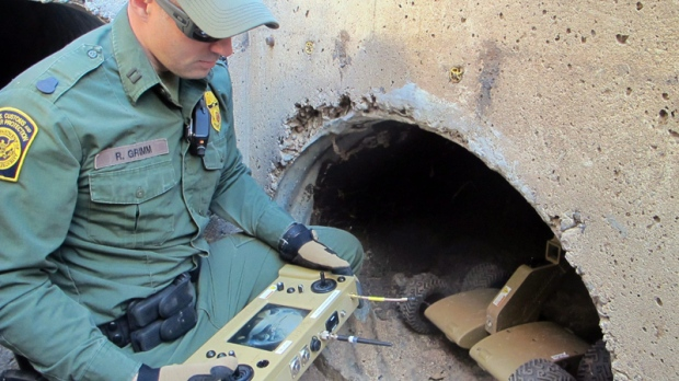 U.S. Border Patrol Agent in Nogales, Ariz.