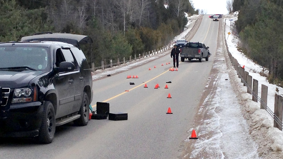Pedestrain hit and killed was walking on the road: police   CTV Barrie News