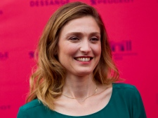 Julie Gayet in Paris