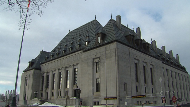 The Supreme Court of Canada is shown in this file photo.