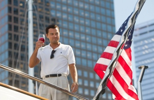 Leonardo DiCaprio as Jordan Belfort in a scene from 'The Wolf of Wall Street.' (Paramount Pictures / Mary Cybulski)