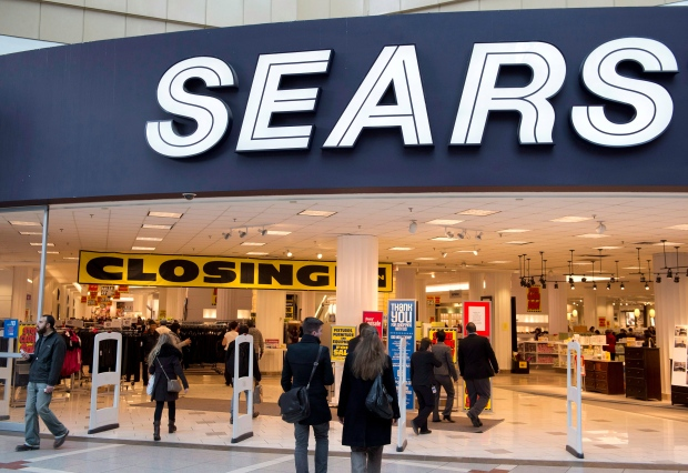 Sears at the Eaton Centre in Toronto