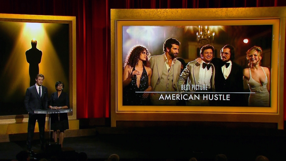 'American Hustle' is nominated for an Academy Award for Best Picture, Thursday, Jan. 16, 2014.
