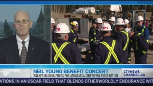 CTV News Channel: Young's fight against oilsands