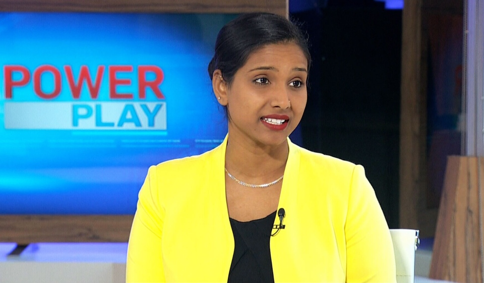 NDP MP Rathika Sitsabaiesan speaks to CTV's Power Play on Thursday, January 16, 2014.