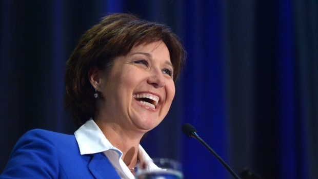 Christy Clark says Asian trade boosting forestry