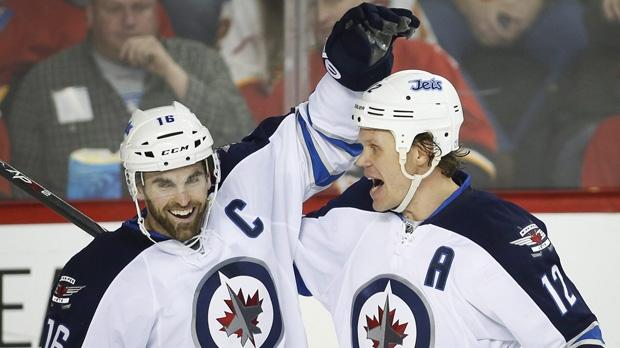 Winnipeg Jets beat the Calgary Flames 5-2