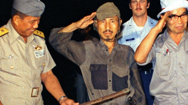 Hiroo Onoda after emerging in 1974