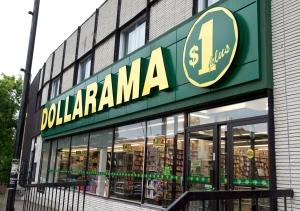 Dollarama store in Montreal