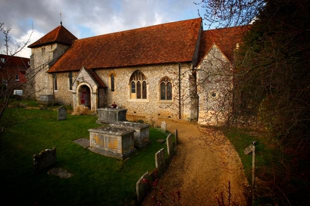 St Bartholomew Church in Winchester, Hampshire