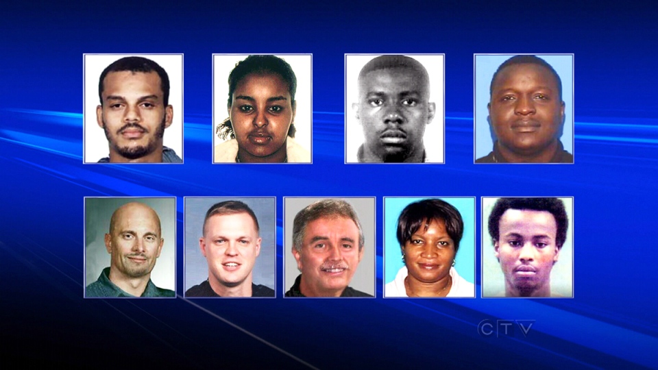 Toronto police release Most Wanted Fugitives list | CTV News