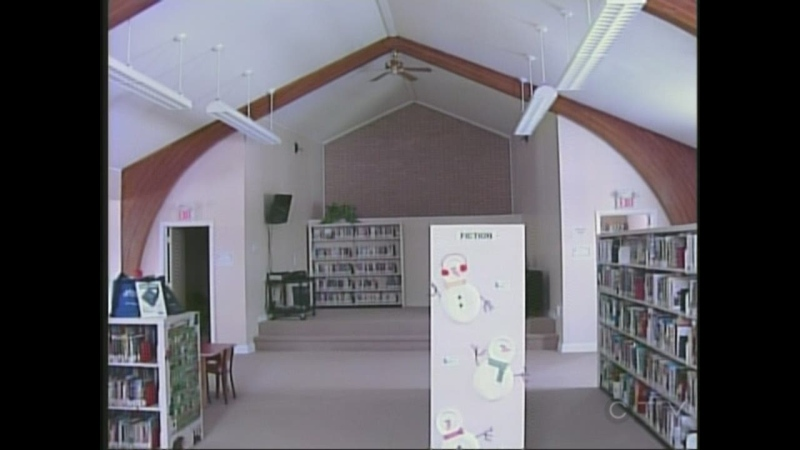 Camlachie's new library is housed in the former United Church, which was built in the 1950s.