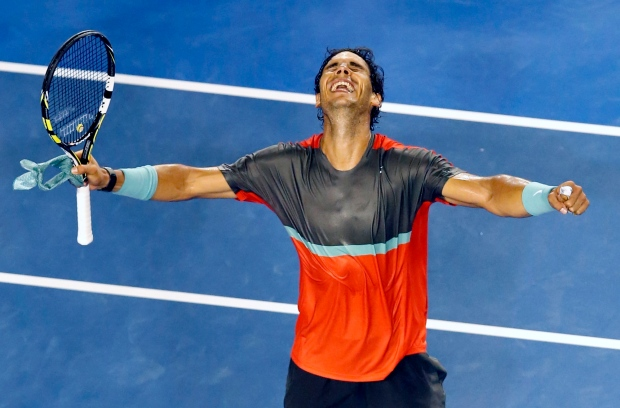 Nadal moves into 4th round at Australia Open