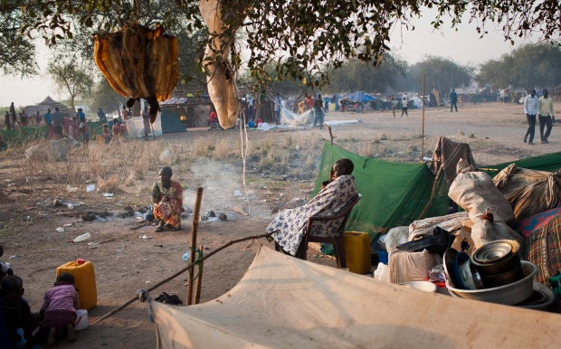 South Sudan displaced persons