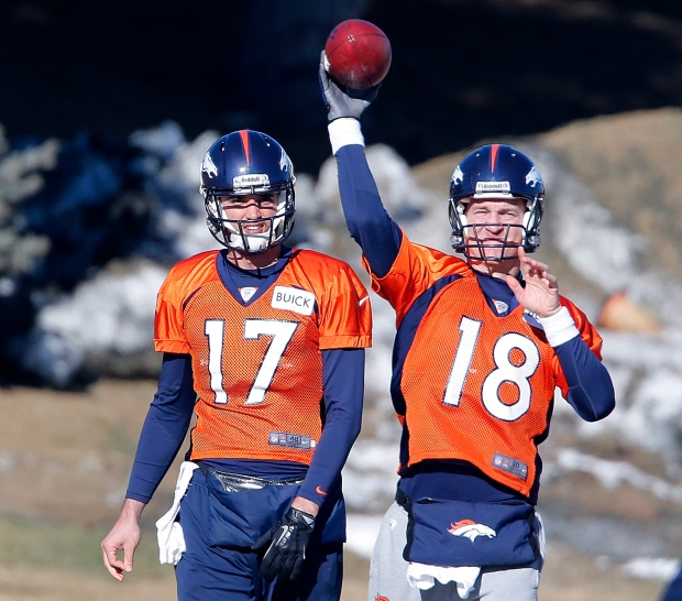 Broncos' Peyton Manning Exudes Calm As He Prepares To Host