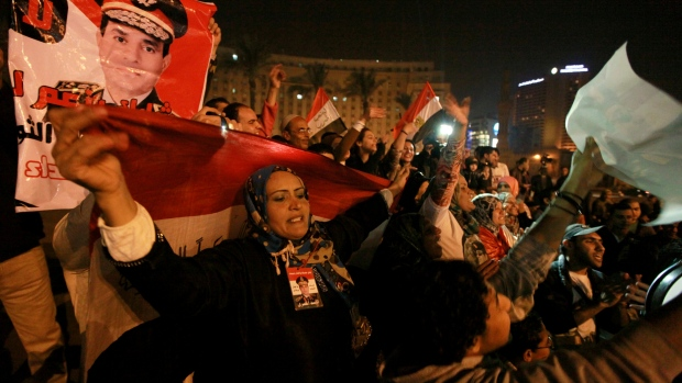 Egyptians support military-backed constitution