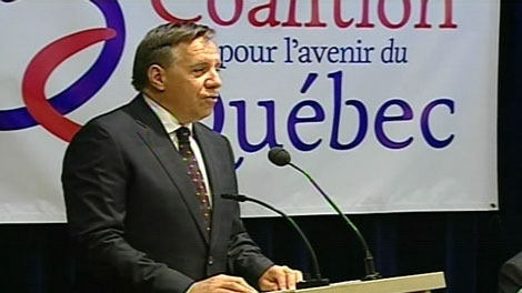 Francois Legault, co-president of the Coalition for Quebec's Future said he thinks Quebec should scale back immigration for two years.