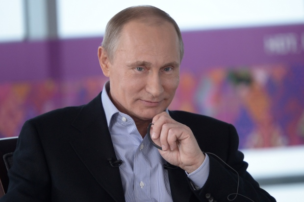 Vladimir Putin makes anti-gay remarks
