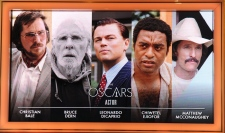Best actor nominees for Oscars 2014