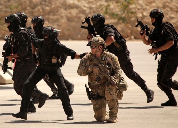 Jordan ready to host U S  training of Iraqi soldiers