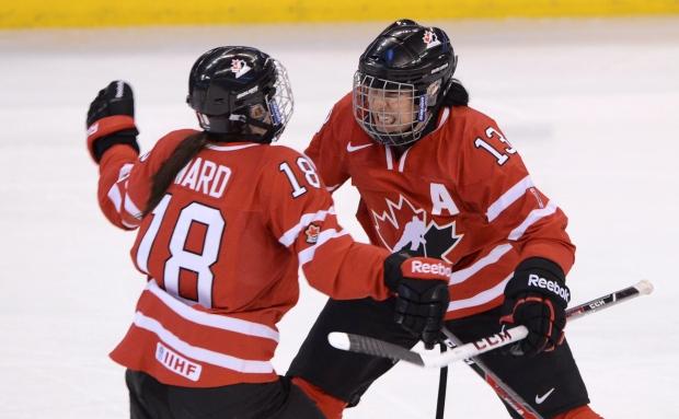 Caroline Ouellette named women's hockey captain