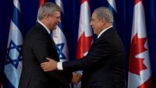 Prime Minister Stepeh Harper in Israel