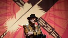 Neil Young's anti-oilsands tour
