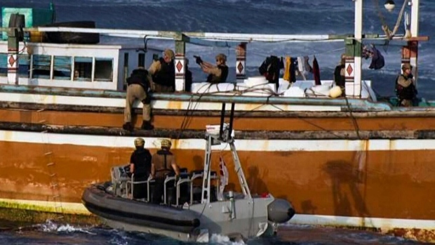 HMCS Toronto intercepts massive haul of heroin